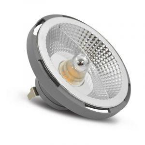Spot Led 15W (140W) G53 AR111 12V Blanc chaud 3000°K - VISION-EL