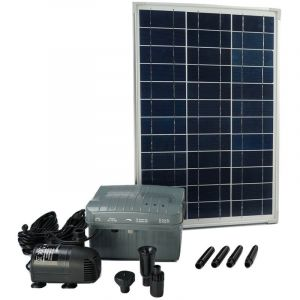 Ubbink Kit SolarMax 1000 avec pompe panneau solaire batterie 1351182