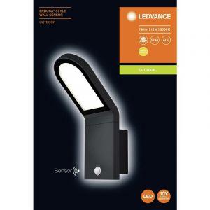 Applique LED extérieure avec détecteur de mouvement x LED intégrée LEDVANCE 4058075214170 gris foncé 1 pc(s)