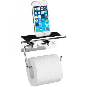 Dérouleur papier WC avec rack pour smartphone WENKO