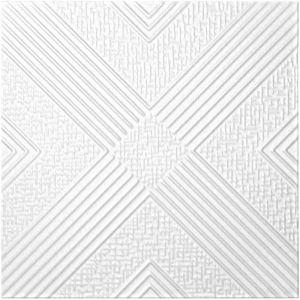 Carreaux plafond   XPS   rigide   Hexim   50x50cm   NR.73