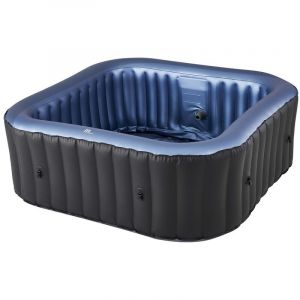 Spa gonflable jacuzzi carré SALINA 6 places - RED DECO