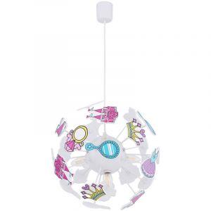 Suspension LED RGB, princesses, télécommande, LURRA - ETC-SHOP