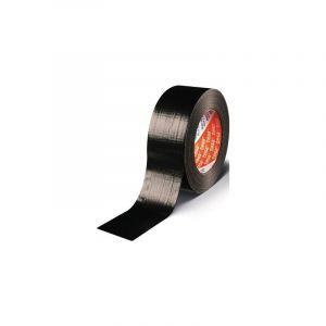 Ruban adhésif toilé tesa® Duct tape tesa 04613-00050-01 noir (L x l) 50 m x 48 mm caoutchouc 1 rouleau(x)