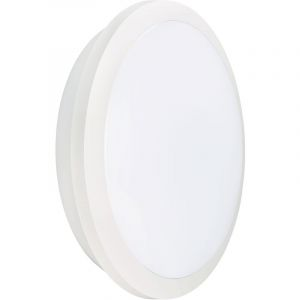 RHEA CCT Sensor- Hublot IP65 IK10, blanc, LED integ. 21W 2300lm 3000K-4000K