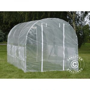 Serre Tunnel 2x4,5x2m, 9m², Transparent - DANCOVER