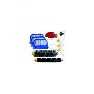 Kit d'entretien pour iRobot Roomba avec brosses et filtres - série 500 600 585 595 620 630 650 660 680 690 - STOEX