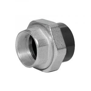 Union PVC pression fer-pvc droit FF 26x34 32 fonte galvavec pvc - GLYNWED