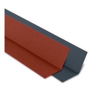 Faîtière Plate Contre Mur 2100 mm Acier Mat Texturé | Gris mat texturé | RAL 7016 - YOUSTEEL