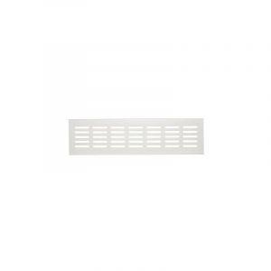 Grille aluminium naturel - 600 mm - À encastrer - Série 381/80 - Renson