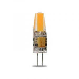 Lampe LED G4 silicone 1W8 COB 12VDC blanc froid diamètre 10 mm - OHM-EASY LED LIGHTING