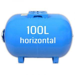 Ballon surpresseur 100l horizontal, cuve, réservoir surpresseur - OMNIGENA