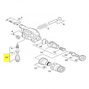 Ensemble Kit Soupape 90011350 Pour NETTOYEUR HAUTE-PRESSION - KARCHER