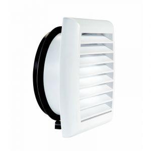 Grille de façade plastique 125 - GAP ATLANTIC - 422873 Grille de façade plastique 125