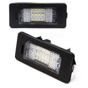 Feu de plaque jeu 2 éclairage de plaque inéralogique pour BMW luminaire CMS LED - WILTEC