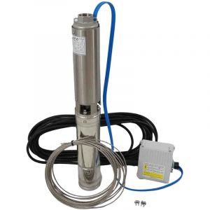Kit forage avec pompe 4'' 230V 0,55Kw et accessoires