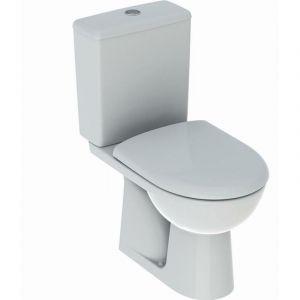 Pack WC au sol Renova GEBERIT avec abattant - 501.757.00.1