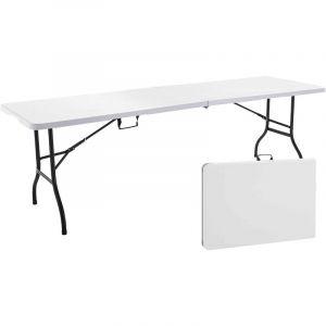 Table de camping pliante 244 cm 12 places - REKKEM