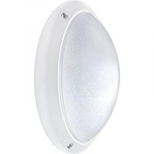 Hublot étanche ORIA blanc E27 - 60W - IP54 - sans ampoule - ARIC