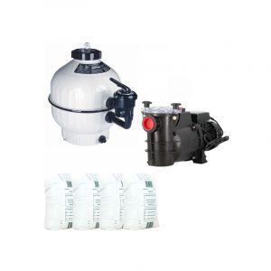 Pack filtration piscine - 7x3 m - Catégorie Kit construction piscine