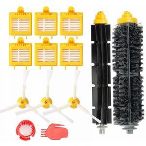 Remplaçant Brosse Kit Pièces accessoires pour iRobot Roomba série 700 760 761 765 770 772 776 780 785 786 790-Un Kit de 13 - STOEX