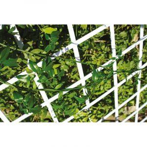 Treillis pvc extensible blanc 0,50 x 1,50 - CATRAL GARDEN