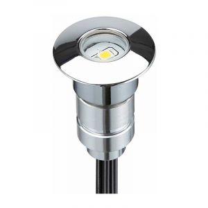 Mini spot LED encastrable rond 0,3W 12V | Bleu - LECLUBLED
