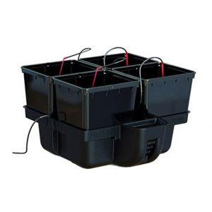Platinium HydroPro 4 pots - MJ 500 , système hydroponique , hydroponie - PLATINIUM HYDROPONICS