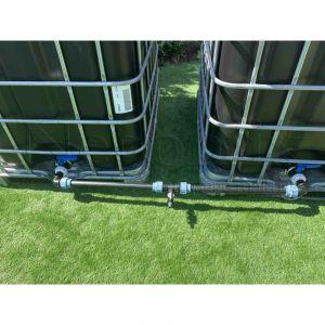 Kit horizontal de raccordement pour 2 cuves - NEGOMIX