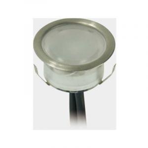 Kit de Mini Spots LED 1W Extérieur Encastrable | 11 spots LED - Blanc Chaud 3000K - LECLUBLED