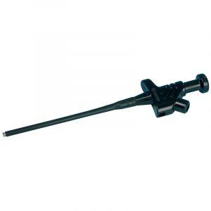 Grip-fils SKS Hirschmann KLEPS 30 enfichable 4 mm CAT I noir