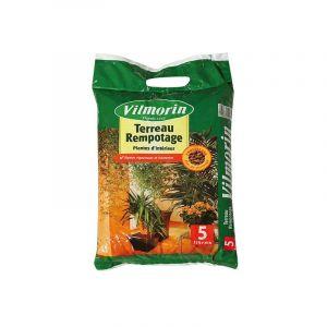 Terreau rempotage plantes d'intérieur vilmorin sac de 10 litres