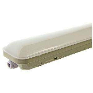 Luminaire LED étanche IP65 36W 120 cm Blanc Froid | Opale - BARCELONA LED