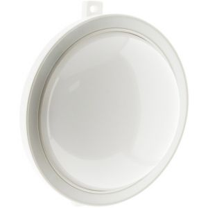 Hublot rond LED 5.5W 450 lm - IP44 - Blanc - ELEXITY
