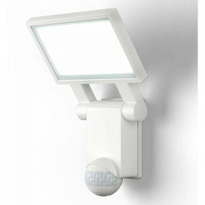 Applique murale LED extérieur avec détecteur de mouvements IP44 blanche jardin terasse blanche - B.K.LICHT