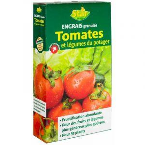 Engrais tomates et légumes granulés 1kg - STAR JARDIN