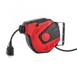 Enrouleur électrique automatique compact pro 8m - 3x2,5 mm² MW-Tools HAE32508N