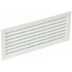 Grilles de ventilation rectangulaires à encastrer 84 x 230 mm - avec moustiquaire - NICOLL