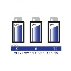 Pile rechargeable LR6 (AA) NiMH Camelion AlwaysReady 2300 mAh 1.2 V 4 pc(s)