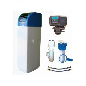 Adoucisseur d'eau PENTAIR 30 L vanne Fleck 5600 SXT 20 L complet avec Kit d'installation