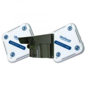 Kit Protect 800 double récepteurs - alarme d'allée sans fil longue distance (2 récepteurs, 1 détecteur) - ULTRA SECURE