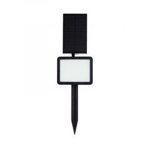 Borne/Applique solaire LED, 2x fixations murale et à piquer (200 lumens) - XANLITE