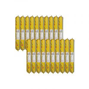 Lot de 20 poches colle élastique SIKA SikaBond 52 Parquet - 600ml