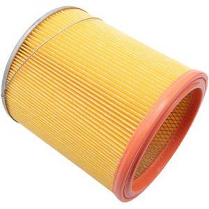 vhbw filtre d'aspirateur pour Rowenta RU 03_IT IT, RU 040, RU 040 FR, RU 041, RU 05, RU 051, RU 051 B aspirateur filtre rond plissé