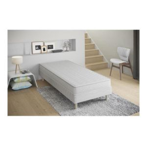 Confort - Ensemble Sommier + Matelas 17cm 90x190 - KBEDDING