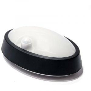 Plafonnier LED 6W avec capteur de présence | Noir - Blanc Neutre - BARCELONA LED