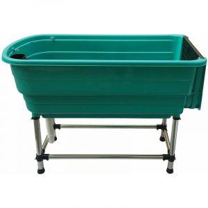 Baignoire detachable en plastique verte