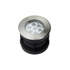 Spot LED Extérieur à Encastrer 7W (éclairage 50W) - Blanc Chaud 3000K - LECLUBLED
