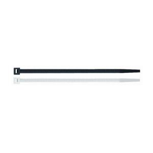 50 colliers de serrage en plastique noir 12,5 x 1000 mm - BN12100 - Index - -