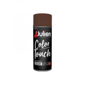 Peinture aérosol Color Touch 400 ml (brun chataigne brillant ral 8016) - Couleur : Brun chataigne brillant RAL 8016 - Julien